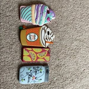 4 iPhone 6 cases from Claire's